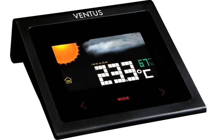 Ventus W224 Wireless Weather Station, langaton sääasema värinäytöllä