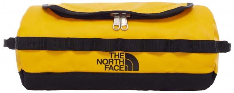 The North Face Base Camp Toilettilaukku L, keltainen/musta