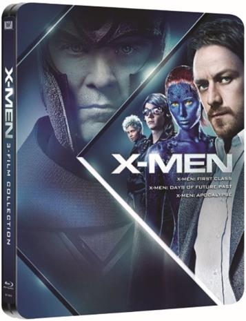 X-Men: Prequel Trilogy - Limited Steelbook (Blu-ray), elokuva