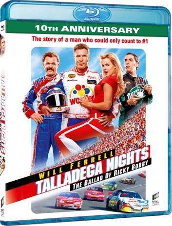 Talladega Nights: The Ballad of Ricky Bobby - 10th Anniversary Edition (Blu-ray), elokuva