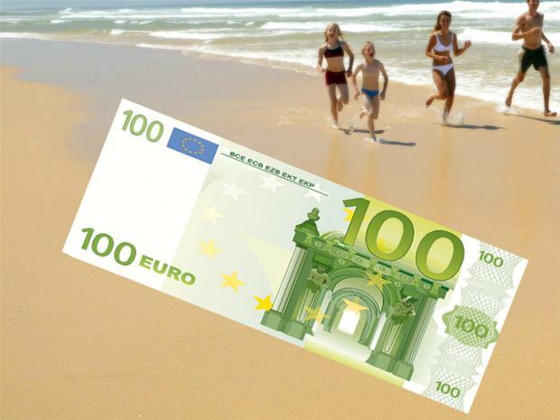 100 euron setelipyyhe