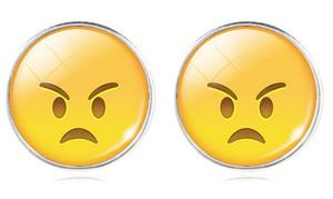 Örhänge Emoji   Angry Face