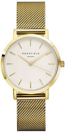Rosefield Tribeca TWG-T51 White - Mesh Gold