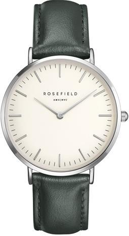 Rosefield Bowery BWGES-B17 White - Green - Silver