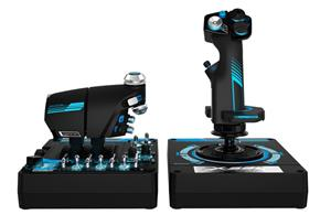 Saitek Pro Flight X-56 Rhino Flight Stick, sauvaohjain