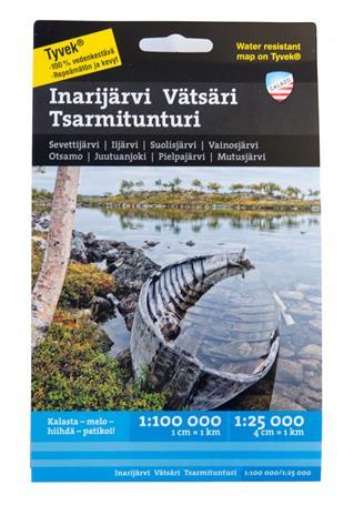 Calazo Inarijärvi Vätsäri Tsarmitunturi Tyvek