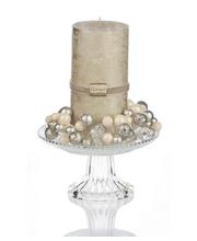 Finnmari kynttilä & lasialusta lahjapakkaus