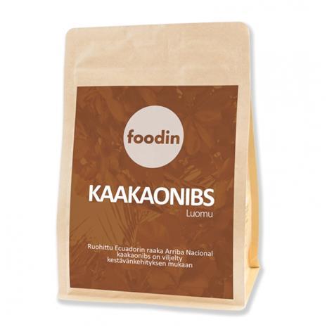 Foodin Kaakaonibs, luomu