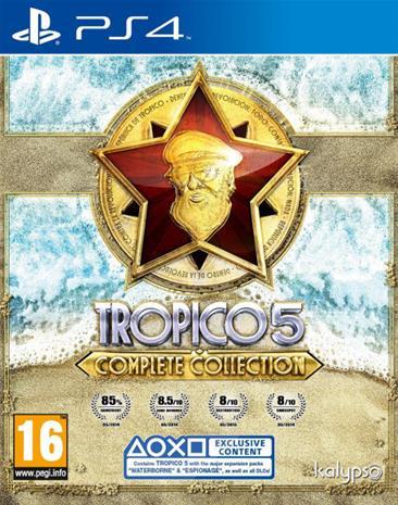 Tropico 5 Complete Colletion, PS4-peli