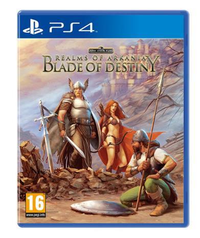 Realms of Arkania: Blade of Destiny, PS4-peli