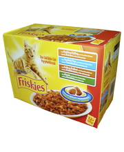Friskies 12x100 g hyytelölajitelma kissanruoka