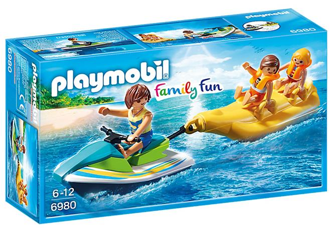 Playmobil - Personal Watercraft with Banana Boat (6980)
