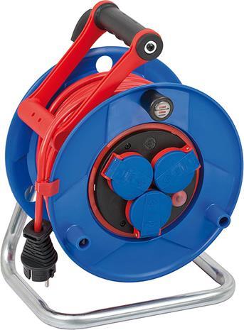 Brennenstuhl Garant Bretec IP44 Kabeltrommel 25m AT-N05V3V3-F 3G1,5 (1209920), kaapelikela 25m