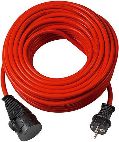 Brennenstuhl Bremaxx Verlängerungskabel IP44 25m rot AT N05V3V3-F 3G1,5 (1169840), jatkokaapeli 25m