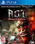 A.O.T.: Wings of Freedom (Attack on Titan), PS4-peli