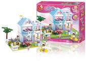 Family House, Sluban Girls Dream-sarjan rakennuspalikat