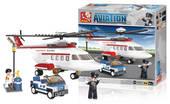 Helikopteri, Sluban Aviation-sarjan rakennuspalikat