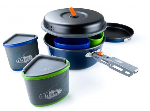 GSI Bugaboo Backpacker retkikeittiötarvike , sininen/musta