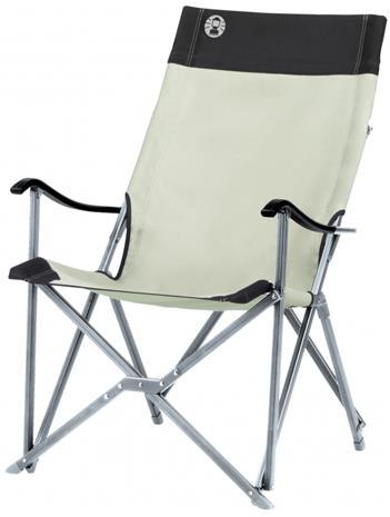 Coleman Sling Chair retki-istuin , vihreä/valkoinen