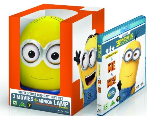 Minions Lamp Box (Blu-ray), elokuva