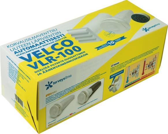 Velco VLR-100 korvausilmaventtiili