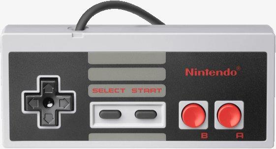 Nintendo NES Classic Mini Controller, NES/Wii/Wii U -peliohjain