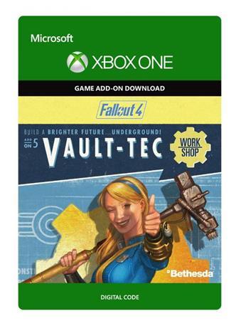 Fallout 4 - Vault-Tec Workshop DLC, Xbox One -peli