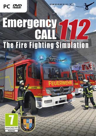 Emergency Call 112 Fire Fighting Simulation, PC-peli