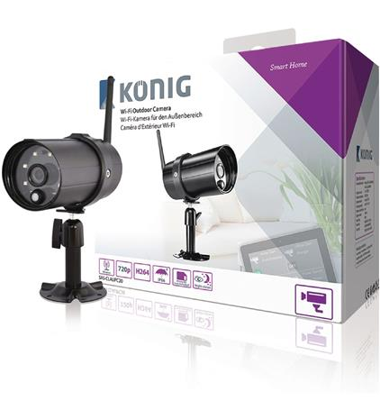König SAS-CLALIPC20, HD Wi-Fi-ulkokamera SAS-CLALARM-hälytysjärjestelmään