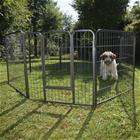 Metallinen pentuaitaus koiranpennuille - 8 palaa P 80 cm x K 80 cm