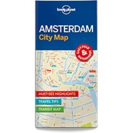 Lonely Planet Amsterdam, kaupunkikartta