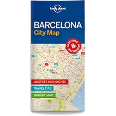 Lonely Planet Barcelona, kaupunkikartta