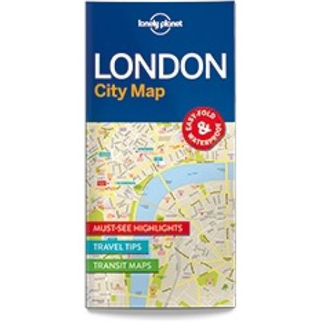 Lonely Planet London, kaupunkikartta