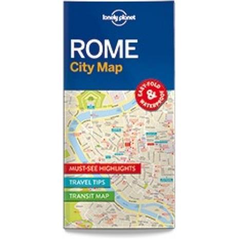 Lonely Planet Rome, kaupunkikartta