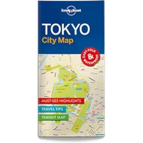Lonely Planet Tokyo, kaupunkikartta