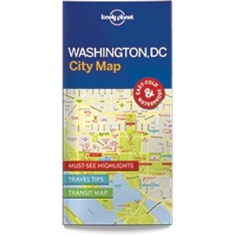 Lonely Planet Washington DC, kaupunkikartta