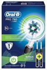 Braun Oral-B Pro 790 CrossAction Duo, sähköhammasharja, kaksi varsiosaa