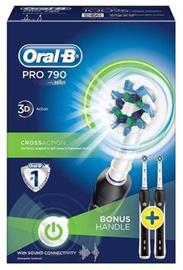 Braun Oral-B Pro 790 CrossAction Duo, sähköhammasharja, kaksi runko-osaa