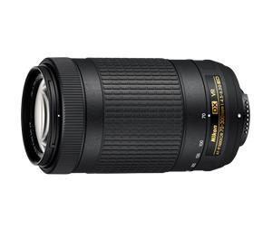 Nikon AF-P Nikkor 70-300mm f/4.5-6.3G ED VR, objektiivi