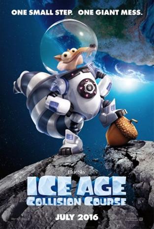 Ice Age 5: Collision Course (2016, 4k UHD + Blu-Ray), elokuva