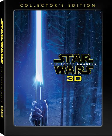 Star Wars Episode VII: The Force Awakens - Collector's Edition (3D Blu-Ray), elokuva