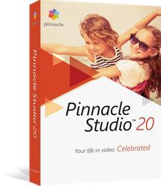 Pinnacle Studio 20, ohjelmisto