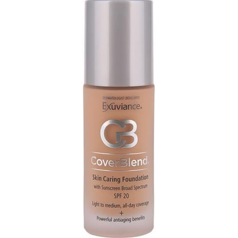Exuviance CoverBlend Skin Caring Foundation - Blush Beige SPF15 30ml