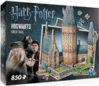 Wrebbit Harry Potter Hogwarts Great Hall, 3D-palapeli 850 palaa