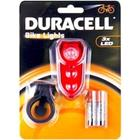 Duracell B02, polkupyörän takavalo 3 lediä BIK-B02RDU