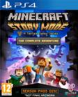 Minecraft Story Mode - The Complete Adventure, PS4-peli