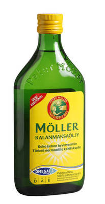 Möller, kalanmaksaöljy 500 ml
