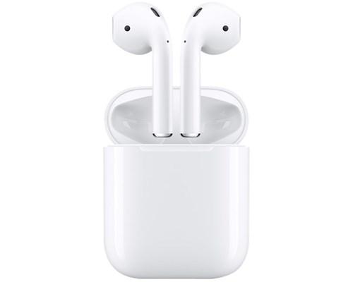 Apple Airpods ja latauskotelo (MMEF2ZM), Bluetooth-nappikuulokkeet mikrofonilla