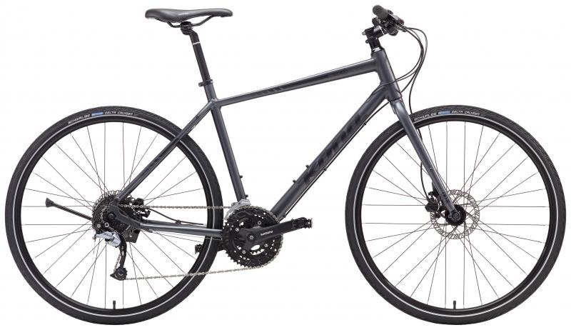 Kona Dew Plus hybridipyörä , harmaa