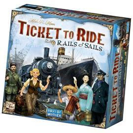 Ticket to Ride - Rails & Sails (Suomi) LAUTA